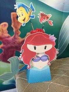 Little Mermaid cupcake Ariel party cupcake box cupcake by kupkakekidz Little mermaid party Ariel party ideas