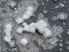 Salt crystals.