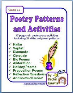 Assign each student a different day to bring a poem to share with the class. For younger students, the teacher could read the poem out loud instead of the student. The sharing student could be required to tell why he or she likes the poem. You could also have a time for students to comment on the poem that was shared. As an alternative to