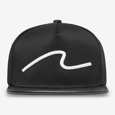 b3384717e50 Wave white-on-black snapback from Stampd.  76