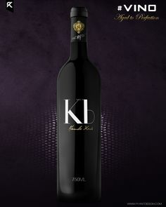 """What would it look like if Kobe Bryant wanted to monetize off of his new nickname """"Vino"""" and decided to sell an actual bottle of his own signature fine wine? Stephen Curry Shoes, Kobe Bryant Nba, Love And Basketball, Black Mamba, Nba Players, Los Angeles Lakers, Fine Wine, Wine Glass, Concept"""