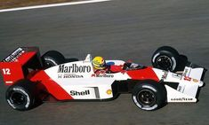 Ayrton Senna McLaren - Honda 1988 #mclarenf1