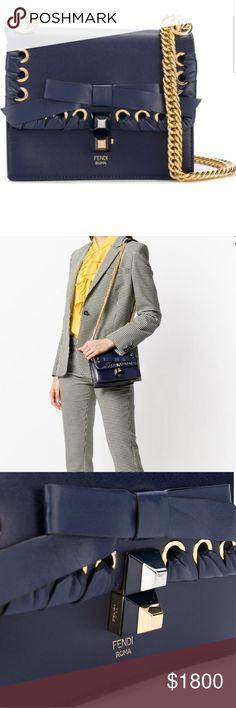 fc59631768fe BRAND NEW FENDI KAN I WOVEN SHOULDER BAG When it comes to sophistication