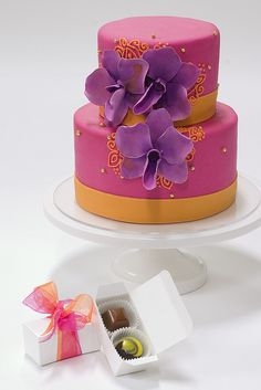 Cake and Chocolate Pairing by studiocake, via Flickr
