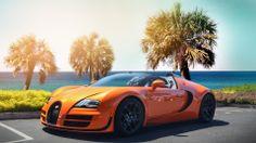 Sizzling Bughatti Veyron