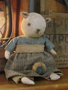 by thy hands tinkerings | Primitive Dolls