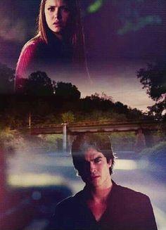 Damon/Elena moment