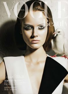 Monika Jagaciak Vogue Nippon Beauty