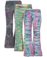 Tie-Dye Yoga Pants