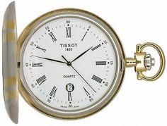 Tissot Unisex Pocket Savonnettes watch #T83.8.553.13 - List price: $350.00 Price: $258.00 Saving: $92.00 (26%)