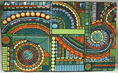 Mosaic by unknown artist