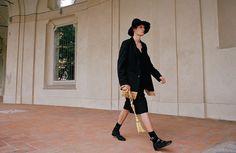 ICONOCLASTIC Stefano Lo Muzio F/W 2013-14 UNIVRS Blazer and Trousers Ph. SCANDEBERGS Styling Nicola Baratto Model Jens P. @ Independent Men Milano