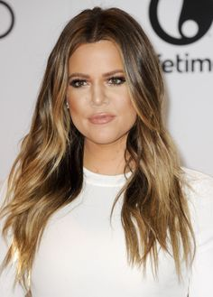 If you're going to like a kardashian, it might as well be the one with the best hair.