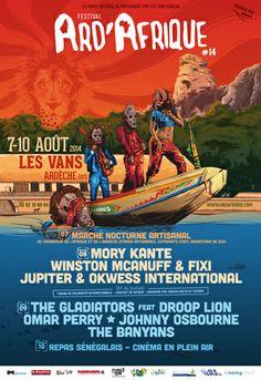 Festival Ard'Afrique #14, Les Vans (07140), Rhône-Alpes