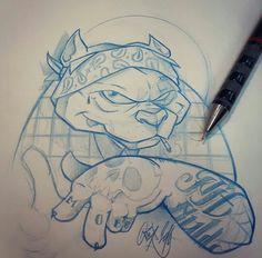 ( - p.mc.n. ) Cholo Art, Chicano Art, Graffiti Drawing, Graffiti Art, Cartoon Drawings, Drawing Sketches, Character Art, Character Design, Graffiti Characters