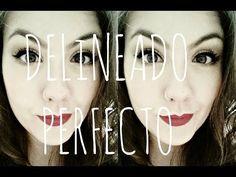 Cómo hacer un Delineado Perfecto (ojo de gato) - YouTube