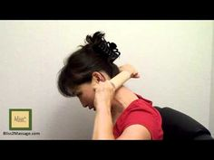 It works!!! Self rolling pin massage - How to massage neck