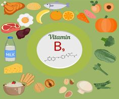 alimentos ricos en contenido de vitamina B9 o ácido fólico Thigh Exercises, Vitamins, Medicine, Milk, Cards, Beauty, Brewers Yeast, Fruits And Vegetables, Grains