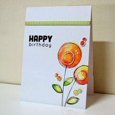 Swanlady Impressions: Happy Birthday
