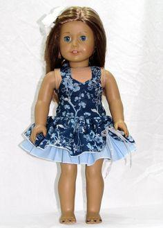 American Girl Doll Clothes Flirty Girly Girl Peek a by AvannaGirl, $30.00