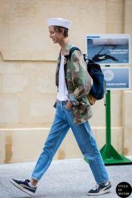 Paris Men's Fashion Week Spring 2015 Street Style: Model off duty
