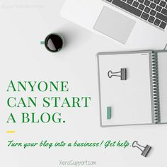 Anyone can start a blog. Not everyone will turn that into money. Here's a list of blogging resources to take your blog from a hobby to a business.