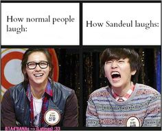 Sandeul's Laugh - CNU & Sandeul