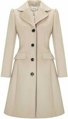 Somerset by Alice Temperley Fit and Flare Coat, Mink - ShopStyle Mode Outfits, Fashion Outfits, Fit And Flare Coat, Langer Mantel, Mode Hijab, Coat Dress, Winter Coat, Coats For Women, Winter Outfits