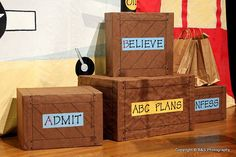 ABC's For VBS-love this