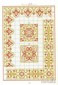 ru / Photo # 110 - the book - Irinika Cross Stitch Borders, Cross Stitch Charts, Cross Stitching, Cross Stitch Embroidery, Celtic Patterns, Embroidery Patterns, Cross Stitch Patterns, Minecraft Pattern, Seed Bead Patterns