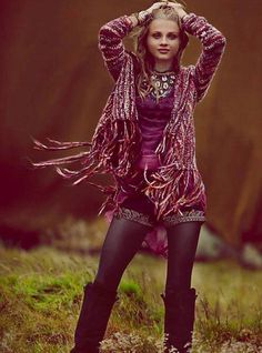 Get your fringe on with this Free People sweater