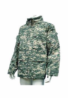 ECWCS Style Parka ACU Waterproof Jacket