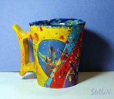 Stella N, mug 'carnaval'
