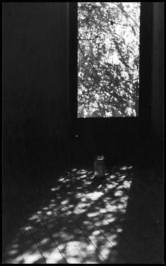 Darkened Room with Jar on Floor (1966) - Ralph Eugene Meatyard