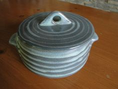 Glidden Pottery High Tide Server w/Cover - Fong Chow
