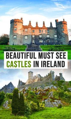 The Best Castles To Visit In Ireland MUST SEE Irish Castles) Must see castles in ireland. The best castles in Ireland to visit, must see Ireland castles, the best castles to visit i. Cool Places To Visit, Places To Travel, Travel Destinations, Travel Tips, Holiday Destinations, Asia Travel, Travel Bag, Ireland Destinations, Travel Hacks