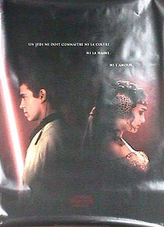 """STAR WARS: EPISODE II - ATTACK OF THE CLONES POSTER  Product ID:MPW-3522  Description: original; French; rolled;  Year: 2002  Dimensions: 47"""" x 63""""  Genre: Action, Fantasy, Sci-Fi, Star Wars, Adventure  Price: 160.00"""