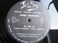 Jesse Saunders - On and On. First house record ever (perhaps).