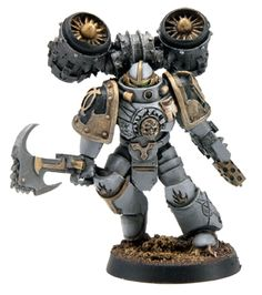 Serving alongside the Destroyers of the Word Bearers Legion, theAshen Circlewas a unique formation created for a unique purpose; the destruction of culture, learning and faith. These Space Marines were iconoclasts, charged beyond the battlefield with hunting down works of false doctrine and those who purveyed it, consigning both to destruction and eradicating flame