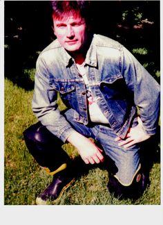Classic Levis denim jacket w. Edwin jeans