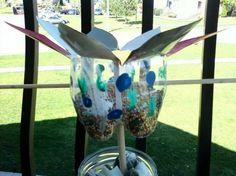 Bird feeder (plastic 2 liter bottle)