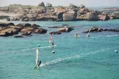 Trégastel water sports centre brings together a highly original offer and a sense of tradition, which make it today one of the leading centres on the Pink Granite coast. Description from goforit.brittanytourism.com. I searched for this on bing.com/images