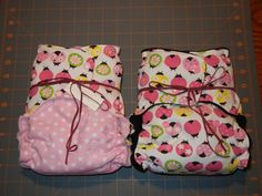 # 10 ~ Working at Home Mom diapers. You must have at least one (but I bet you'll have more because the prints are just too cute)! These are Click-A-Doo All In 2's (AI2). #clothdiapers #nopins.