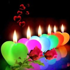 Whatsapp video - Good Night Candles For You Whatsapp GIF Status Lovely Good Night, Good Night Love Images, Good Night Gif, Good Night Wishes, Good Night Sweet Dreams, Good Night Image, Night Pictures, I Love Heart, Candle Lanterns