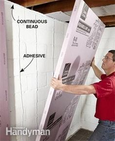 How to Finish a Basement Wall | The Family Handyman
