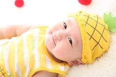 A baby pineapple outfit!!! My child MUST have it!