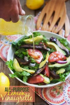 HFF: Lemons {My go-to Lemon Vinaigrette) - Lexi's Clean Kitchen