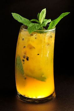passion fruit mojito ... just what a girl needs after a day of being single.
