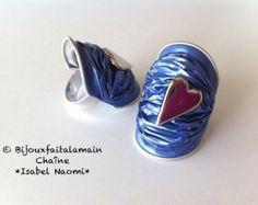 Bracelet vagues en capsule Nespresso Fait par Bijouxfaitalamain13