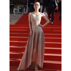 Akris® Official – #AkrisVIP - Celebrities wearing Akris Boat Neck Tops, Princess Charlene, Female Actresses, Chinese Actress, Hollywood Walk Of Fame, Chiffon Skirt, Cannes Film Festival, International Fashion, Looking Stunning